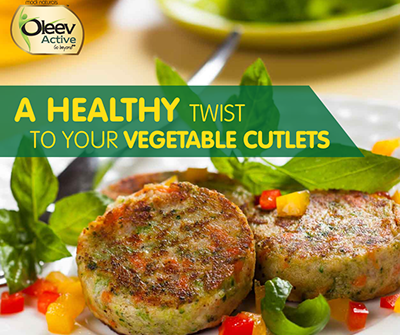 Oleev Vegetable Cutlets